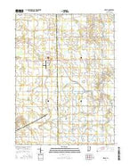 Preble Indiana Current topographic map, 1:24000 scale, 7.5 X 7.5 Minute, Year 2016 from Indiana Map Store