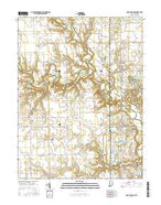 Saint Bernice Indiana Current topographic map, 1:24000 scale, 7.5 X 7.5 Minute, Year 2016 from Indiana Map Store