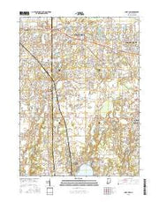 Saint John Indiana Current topographic map, 1:24000 scale, 7.5 X 7.5 Minute, Year 2016 from Indiana Maps Store