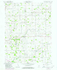 Shannondale Indiana Historical topographic map, 1:24000 scale, 7.5 X 7.5 Minute, Year 1961