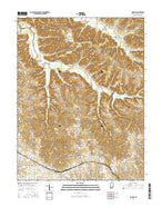 Smedley Indiana Current topographic map, 1:24000 scale, 7.5 X 7.5 Minute, Year 2016 from Indiana Map Store