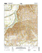 Solitude Indiana Current topographic map, 1:24000 scale, 7.5 X 7.5 Minute, Year 2016 from Indiana Map Store
