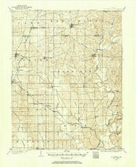 St Meinrad Indiana Historical topographic map, 1:62500 scale, 15 X 15 Minute, Year 1900
