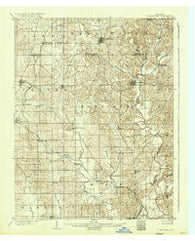 St Meinrad Indiana Historical topographic map, 1:62500 scale, 15 X 15 Minute, Year 1903