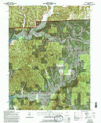 Story Indiana Historical topographic map, 1:24000 scale, 7.5 X 7.5 Minute, Year 1967
