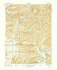 Unionville Indiana Historical topographic map, 1:24000 scale, 7.5 X 7.5 Minute, Year 1947