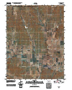 Ada Kansas Historical topographic map, 1:24000 scale, 7.5 X 7.5 Minute, Year 2009