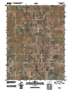 Agenda Kansas Historical topographic map, 1:24000 scale, 7.5 X 7.5 Minute, Year 2009