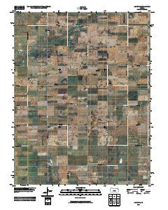 Alden SE Kansas Historical topographic map, 1:24000 scale, 7.5 X 7.5 Minute, Year 2009