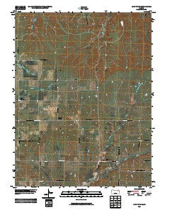 Alta Vista SE Kansas Historical topographic map, 1:24000 scale, 7.5 X 7.5 Minute, Year 2009