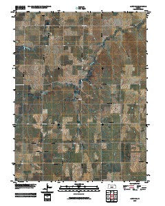 Alton SW Kansas Historical topographic map, 1:24000 scale, 7.5 X 7.5 Minute, Year 2009