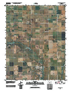 Arlington Kansas Historical topographic map, 1:24000 scale, 7.5 X 7.5 Minute, Year 2009