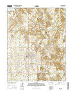 Arma Kansas Current topographic map, 1:24000 scale, 7.5 X 7.5 Minute, Year 2015 from Kansas Map Store