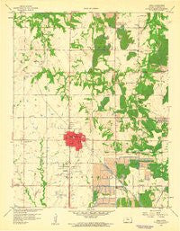 Arma Kansas Historical topographic map, 1:24000 scale, 7.5 X 7.5 Minute, Year 1959