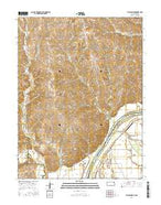 Atchison NE Kansas Current topographic map, 1:24000 scale, 7.5 X 7.5 Minute, Year 2016 from Kansas Map Store