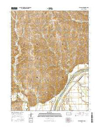Atchison NE Kansas Current topographic map, 1:24000 scale, 7.5 X 7.5 Minute, Year 2016