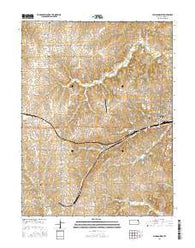 Atchison West Kansas Current topographic map, 1:24000 scale, 7.5 X 7.5 Minute, Year 2016