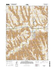 Atwood Kansas Current topographic map, 1:24000 scale, 7.5 X 7.5 Minute, Year 2015 from Kansas Maps Store