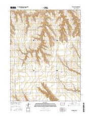 Atwood NW Kansas Current topographic map, 1:24000 scale, 7.5 X 7.5 Minute, Year 2015 from Kansas Maps Store