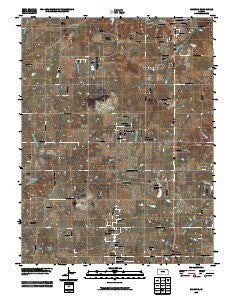 Basehor Kansas Historical topographic map, 1:24000 scale, 7.5 X 7.5 Minute, Year 2009