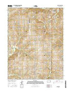 Basehor Kansas Current topographic map, 1:24000 scale, 7.5 X 7.5 Minute, Year 2015 from Kansas Map Store