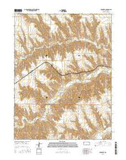 Beardsley Kansas Current topographic map, 1:24000 scale, 7.5 X 7.5 Minute, Year 2015 from Kansas Maps Store