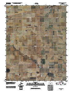 Bellefont Kansas Historical topographic map, 1:24000 scale, 7.5 X 7.5 Minute, Year 2009