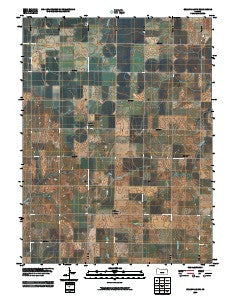 Belleville NW Kansas Historical topographic map, 1:24000 scale, 7.5 X 7.5 Minute, Year 2009