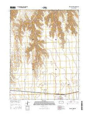 Bird City North Kansas Current topographic map, 1:24000 scale, 7.5 X 7.5 Minute, Year 2015 from Kansas Maps Store