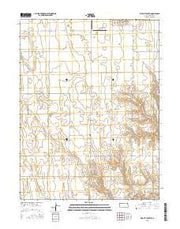 Bird City South Kansas Current topographic map, 1:24000 scale, 7.5 X 7.5 Minute, Year 2015 from Kansas Maps Store