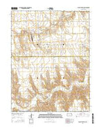 Bird City South SE Kansas Current topographic map, 1:24000 scale, 7.5 X 7.5 Minute, Year 2015 from Kansas Map Store