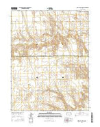 Bird City South SW Kansas Current topographic map, 1:24000 scale, 7.5 X 7.5 Minute, Year 2015 from Kansas Map Store