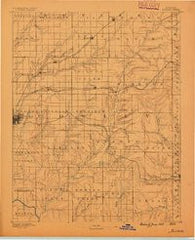 Burden Kansas Historical topographic map, 1:125000 scale, 30 X 30 Minute, Year 1889