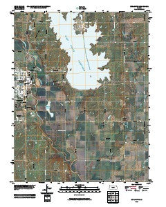 Burlington Kansas Historical topographic map, 1:24000 scale, 7.5 X 7.5 Minute, Year 2009