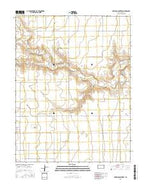 Carwood Cemetery Kansas Current topographic map, 1:24000 scale, 7.5 X 7.5 Minute, Year 2015 from Kansas Map Store