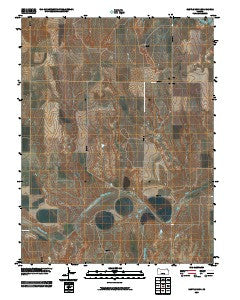 Castle Rock Kansas Historical topographic map, 1:24000 scale, 7.5 X 7.5 Minute, Year 2009
