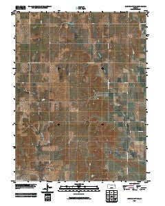 Cawker City NW Kansas Historical topographic map, 1:24000 scale, 7.5 X 7.5 Minute, Year 2009