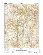 Centerville Kansas Current topographic map, 1:24000 scale, 7.5 X 7.5 Minute, Year 2015 from Kansas Map Store
