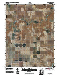 Chardon SE Kansas Historical topographic map, 1:24000 scale, 7.5 X 7.5 Minute, Year 2009