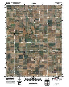 Chase NW Kansas Historical topographic map, 1:24000 scale, 7.5 X 7.5 Minute, Year 2009