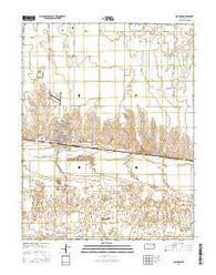 Cimarron Kansas Current topographic map, 1:24000 scale, 7.5 X 7.5 Minute, Year 2016
