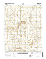 Cimarron NW Kansas Current topographic map, 1:24000 scale, 7.5 X 7.5 Minute, Year 2016 from Kansas Maps Store