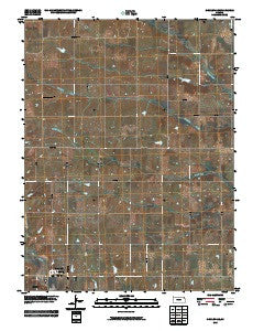 Circleville Kansas Historical topographic map, 1:24000 scale, 7.5 X 7.5 Minute, Year 2009