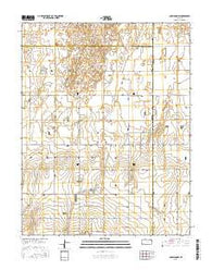 Copeland NW Kansas Current topographic map, 1:24000 scale, 7.5 X 7.5 Minute, Year 2016