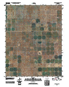 Deerfield SE Kansas Historical topographic map, 1:24000 scale, 7.5 X 7.5 Minute, Year 2009