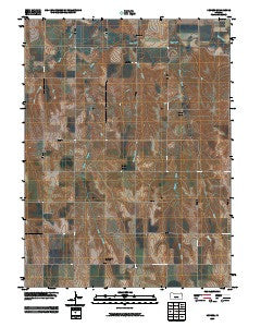 Devizes Kansas Historical topographic map, 1:24000 scale, 7.5 X 7.5 Minute, Year 2009