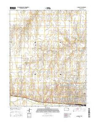 Dodge City Kansas Current topographic map, 1:24000 scale, 7.5 X 7.5 Minute, Year 2016