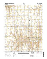 Dodge City NE Kansas Current topographic map, 1:24000 scale, 7.5 X 7.5 Minute, Year 2016