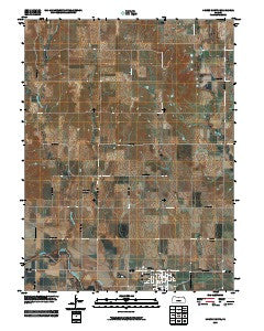 Downs North Kansas Historical topographic map, 1:24000 scale, 7.5 X 7.5 Minute, Year 2009