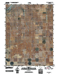 Drury Creek Kansas Historical topographic map, 1:24000 scale, 7.5 X 7.5 Minute, Year 2009